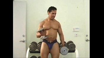 Bodybuilder seduces and fuck young lad