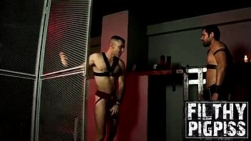 Horny Billy and Jota loves piss cock and steamy anal fuck