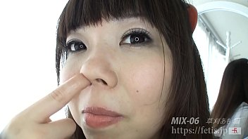 FETIS Too thick fetish scenes compression Only cute girls pick nose version