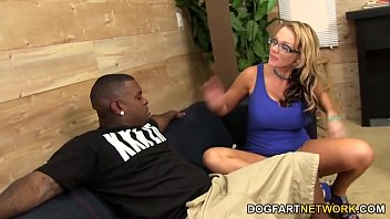 Nikki Sexx Takes A Black Cock In Front Of Her Man