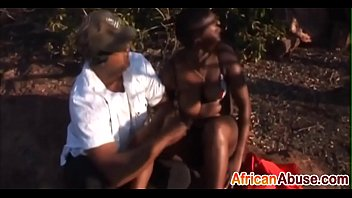 African slut gets spanked for pleasure outdoorsdit-ass-3
