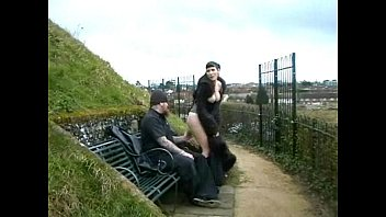 Nudes piss - Goth flashing pissing