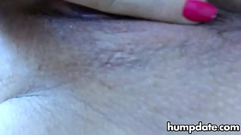 Close up pussy stroking