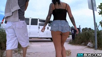 Christy Mack fucks a couple of dudes on the 305bus 2.3 thumbnail