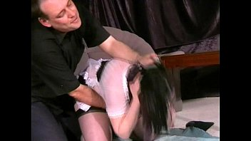Sex slaves and domestic chores Kinky lazy maids domestic punishment and nipple torments