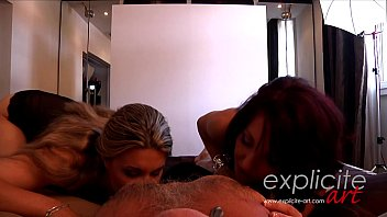 Pov Massage And Happy Ending By 2 French Babes Cline Vga And Nora Luxia