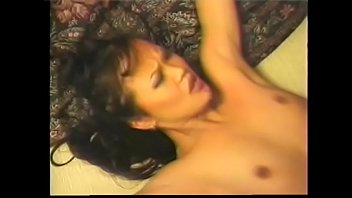 Asian hottie mounts dude's pole then he turns her over to fuck her hard and deep