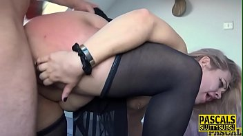 Fetish chubby submissive deep throats