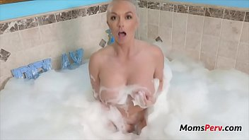 Bubble Bath With Blonde Mother- Brook Page