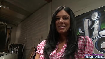 Skinny milf fucked and SQUIRTED by Hell's Angel Biker