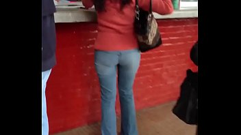 Beautiful college girl with her tight pants