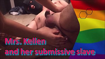 Mrs. Kellen and her submissive slave
