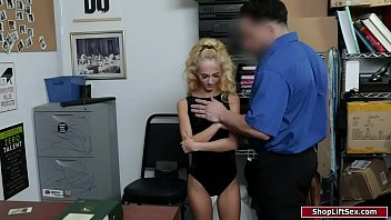Petite Blonde G roped By A Security Guard rity Guard