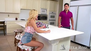 Bubble-butt Bella banged by big bopper! - Naughty America thumbnail