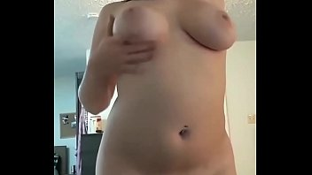 Naughty Teen With Big Ass and Tits Caught Naked