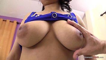 Raw sex with Asian girl with Big naturals