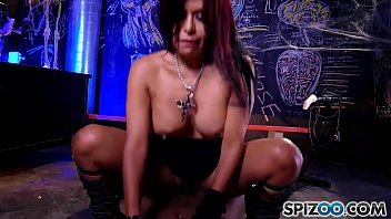 Hot latin Gabby Quinteros is punished by a black monster cock, big boobs & big booty - Spizoo