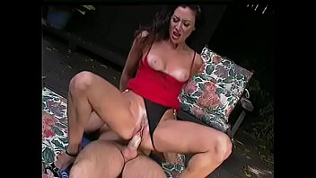 k. hot brunette glady blows dick and gets it deeply inside her shaved cunt