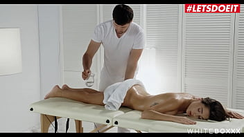 WHITE BOXXX - #Liya Silver #Kristof Cale - Russian Teen Tries Anal On Massage Table With Big Cock Masseur