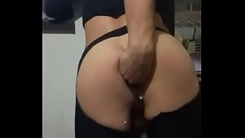 Sissy Tamy crossdresser anal gapping and fisting. Argentinian prolapse boy pussy