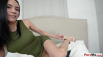 His Stepmom Is Shy And Dont Like To Talk About Sex Until