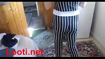 Iran guy touches his girl at home