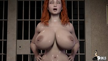 Red Haired wife rides a prison inmates Big dick