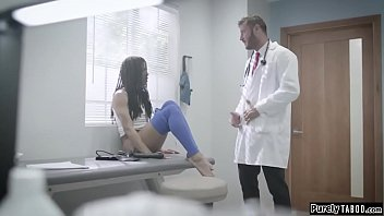 Perv doctor offers money to fuck client