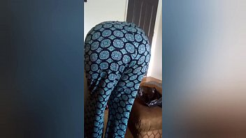 Pervert grandson Jack's off and gets flashed my his mature ebony granny