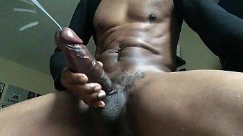 Thick BBC stroke and cum porno izle