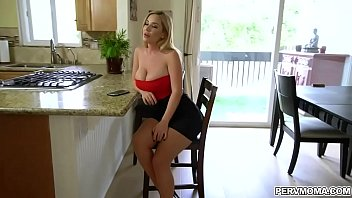 Gorgeous cheating MILF Savannah Bond bangs with horny stepson Tony Profane.She rides on his cock and covering his shaft in her pussy juice.