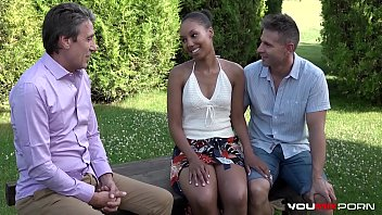 Interracial - Cheating Ebony Shade Rose hardcore fuck with sex therapist