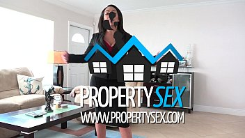 PropertySex - Busty real estate agent uses tits and ass to sell house