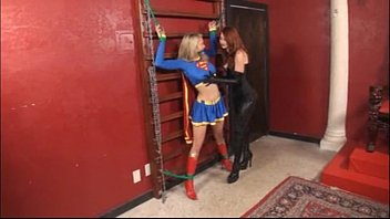 The Violation of Super Girl - Alli Rae, Kendra James