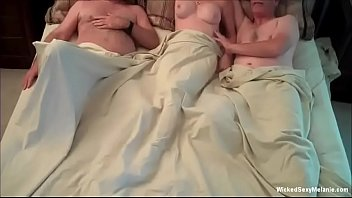 Insatiable Cockslut Granny Threesome
