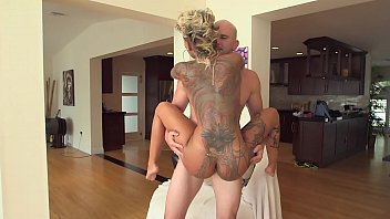 BANGBROS - Tan PAWG Bella Bellz Has A Lovely Round Butt Covered With Tattoos