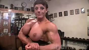 Female bodybuilders tgp Female bodybuilder big tits in the gym