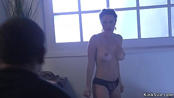 Huge tits parole officer Krissy Lynn informs Mr Pete his parole is revoked and he puts her in rope bondage and pounds her