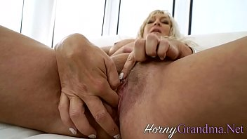 Blacked old lady gets cum