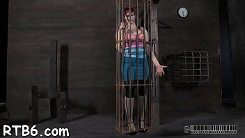 Pornstar punishment porn videos Tough beauty is hoisted up and given immodest cleft punishment
