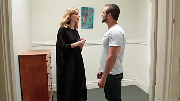 Brock Avery in bisexual threesome at art gallery