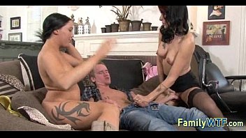Mom and daughter threesome 0172