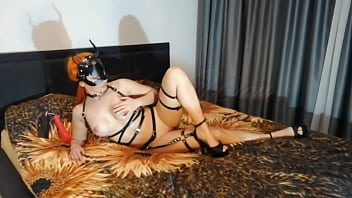 Kriss Wou. Russian Domination Girl With Big Boobs And Nipples. Toys Fuck All Holes