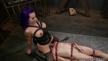 Shemale male domination bdsm free videos - Shemale dom rides face to captive mail