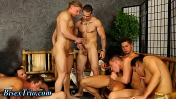Group orgy with sexy slut