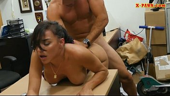 Big tits babe railed by pervert pawn man