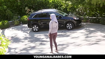 Muslim teen Aaliyah Hadid gets a rough fuck up her ASS! Warning! Watching Aaliyah getting some proper anal pounding will drive you crazy! thumbnail
