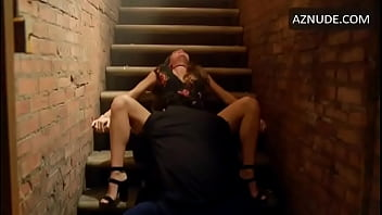 Melissa Barrera Fucked in Stairs (Looped)