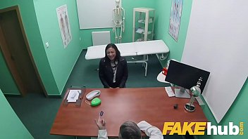 Fake Hospital Dirty Doctor Stretches Fit Babes Pussy After Sucking His Cock