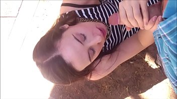 Incredibly Hot Teenager Enjoys Some Dick Outdoors